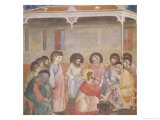 Christ Washing the Disciples' Feet  circa 1305 (Pre-Restoration)