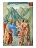St Peter Baptising the Neophytes  circa 1427