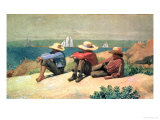 On the Beach  1875