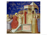 The Presentation of the Virgin at the Temple  circa 1305