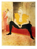 Seated Female Clown  Mlle Cha-U-Kao  1896
