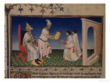 Kublai Khan Giving His Golden Seal to Marco Polo at His New Capital in Cambaluc