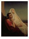 St Augustine and His Mother St Monica  1855
