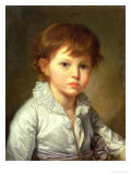 Portrait of Count Stroganov as a Child  1778