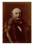 Jacques Offenbach  German Composer  Portrait Photograph