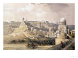 "The Citadel of Cairo  from ""Egypt and Nubia "" Vol3"
