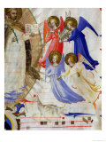 St Dominic with Four Musical Angels  from a Gradual from San Marco E Cenacoli