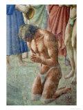 St Peter Baptising the Neophytes  circa 1427 (Detail)