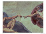 Sistine Chapel Ceiling: Creation of Adam  Detail of the Outstretched Arms  1510