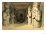 "Interior of the Temple of Abu Simbel  from ""Egypt and Nubia "" Vol1"