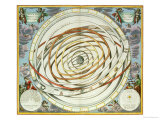 "Planetary Orbits  Plate 18 from ""The Celestial Atlas  or the Harmony of the Universe"""
