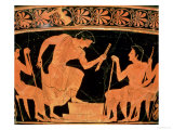 A Musical Contest  Detail from an Attic Red-Figure Calyx-Krater  from Cervetri  circa 510 BC