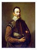 Portrait of Claudio Monteverdi