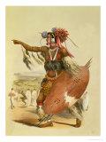 """Zulu Warrior  Utimuni  Nephew of Chaka the Late Zulu King  Plate 13 from """"The Kafirs Illustrated"""""""