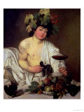 The Young Bacchus  circa 1596