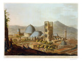 "Jerusalem with the Church of the Holy Sepulchre  Plate 3 from ""Views in Palestine"""