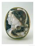 The Gonzaga Cameo  Depicting Ptolemy II Philadelphus and His Wife Arsinoe Portrayed as Gods