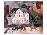 Horses in Paris  1924
