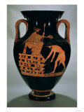 Attic Red-Figure Belly Amphora Depicting Croesus on His Pyre  from Vulci  circa 500-490 BC