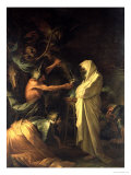 The Spirit of Samuel Appearing to Saul at the House of the Witch of Endor  1668