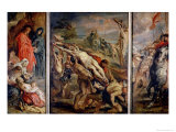 The Raising of the Cross  Painted Before 1609-10