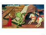 St George and the Dragon  circa 1439-40
