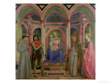 Madonna and Child with St Lucy  St Francis  St Nicolas and St John the Baptist
