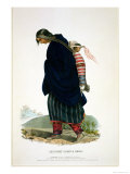 Chippeway Squaw and Child  Published by FOW Greenough  1838