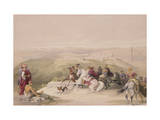 "Sabaste  Ancient Samaria  April 17th 1839  Plate 44 from Volume I of ""The Holy Land"""