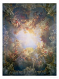 The Apotheosis of Hercules  from the Ceiling of the Salon of Hercules  1733-6