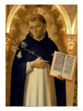The Perugia Altarpiece  Side Panel Depicting St Dominic  1437 (Detail)