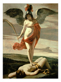 Allegory of Victory (Oil on Canvas)