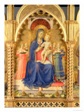 The Perugia Altarpiece  Central Panel Depicting the Madonna and Child