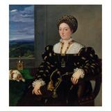 Portrait of Eleonora Gonzaga Della Rovere  1537-38