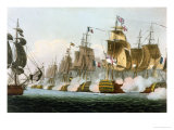 "The Battle of Trafalgar  21st October 1805  for J Jenkins's ""Naval Achievements"""