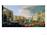 Regatta Held in Honour of Frederick VI of Denmark 1709