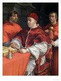 Portraits of Leo X Cardinal Luigi De' Rossi and Giulio De Medici 1518