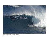 Shaun Dickson surfing Jaws  Maui  2005   C