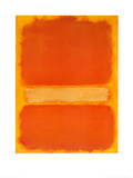 Sans titre, vers 1956 Reproduction d'art par Mark Rothko