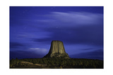 Devils Tower Sunset & Star Trails