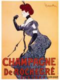 Champagne de Rochecre Giclée par Leonetto Cappiello