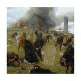 Norse Marauders Wreak Mayhem at Clonmacnoise  Ireland