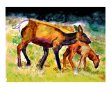 010706 Mother and Son Water Color