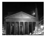 The Pantheon Under a Full Moon
