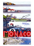 Monaco Grand Prix F1 Race  c1973