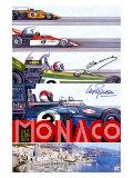 Grand Prix de F1 de Monaco, 1973 Giclée