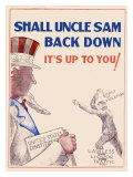 Prohibition  Shall Uncle Sam Back Down