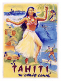 Tahiti Wahine Hula Dance