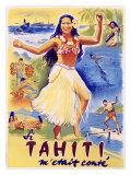 Tahiti Wahine Hula Dance