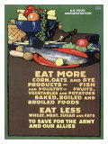 US Food Administration  Ration Diet